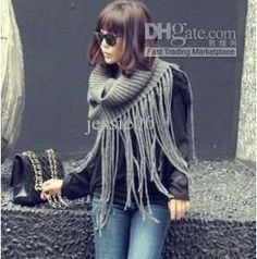 Free shipping, $9.43/Piece:buy wholesale Fashion ladies men scarf tassels collar temperament crochet shawl knitting wool scarves 6 colors from DHgate.com,get worldwide delivery and buyer protection service.