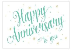 16 Stylish Anniversary Cards You Can Print for Free: Anniversary Script from Greetings Island Cricut Anniversary Card, Free Printable Anniversary Cards, Anniversary Quotes For Couple, Happy Anniversary Wishes, Anniversary Greeting Cards, Free Printable Cards, Wedding Anniversary Cards, Printables, Anniversary Cookies
