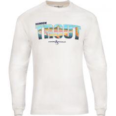 Men's Rainbow Trout L/S UV Fishing T-Shirt