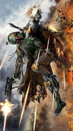 Boba Feet awesome art Just realized it autocorrected to feet, *Boba Fett