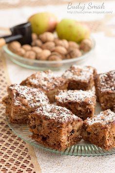 Buduj Smak: Szybkie ciasto z jabłkami i orzechami włoskimi Apple Cake Recipes, Banana Bread, Catering, Deserts, Muffin, Food And Drink, Cooking Recipes, Tasty, Sweets