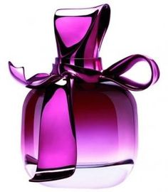 Nina Ricci perfumes-its all about this cute bottle in different colors