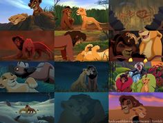 The Lion King 2: Kovu and Kiara (one of my fave Disney couples, not even kidding)