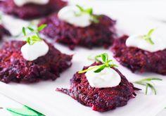 Punajuuripihvit - Reseptit - Arla Tandoori Chicken, Steak, Koti, Ethnic Recipes, Steaks, Beef