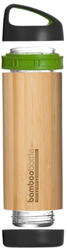 How perfect to take to work, to class or out and about in the city!?  Sustainable bamboo bottle