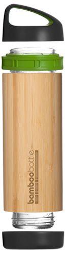Sustainable bamboo bottle