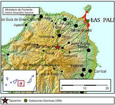 Terremoto sentido Agaete, Gran Canaria