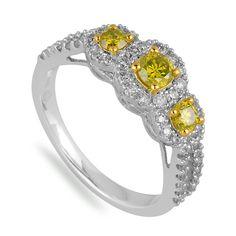 Yellow Diamonds are so intense!