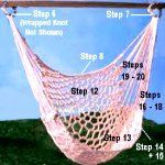 Pattern for a Hammock Chair done by using Macrame techniques.