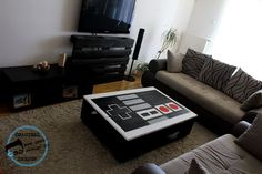 Pallet projects rule. This one double rules because Instructables turned their pallet into a Nintendo NES controller COFFEE TABLE. Kinda posh. Very nerdy. Grown up gamers unite.