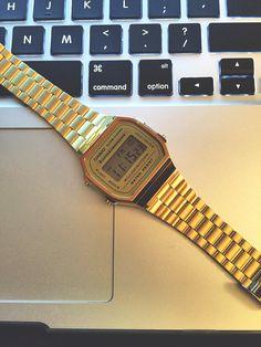 #casio #vintage #gold