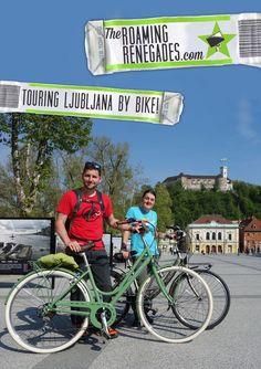 Touring the wonderfully green, friendly and alternative Ljubljana on a bike!