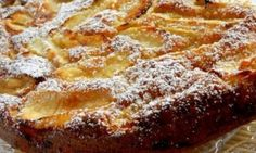 "dessert recipes 623115298424601995 - Gâteau ""invisible"" aux Pommes Source by poussartmichle Greek Sweets, Greek Desserts, Greek Recipes, Sweets Recipes, Apple Recipes, Cake Recipes, Cooking Recipes, Sweet Corner, Food Cakes"