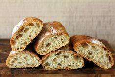 STIRATO RECIPE Ingredients 400 grams cups) bread flour 1 tsp salt tsp instant yeast 300 g C) cool water: bone bread Flatbread Recipes, Sourdough Recipes, Vegetarian Recepies, No Knead Bread, Yeast Bread, Baking Stone, Instant Yeast, Artisan Bread, Breads