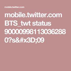 mobile.twitter.com BTS_twt status 900009981130362880?s=09