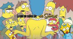Todo lo que no sabías de Los Simpsons