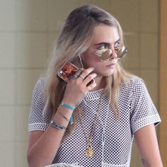Another celebrity spot for one of our brands, Daisy London! Model of the moment Cara Delevigne spotted at the Toronto Film Festival wearing the brand's new Festival Bracelet #Cara #DaisyLondon #Attic