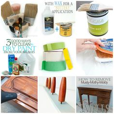 Salvaged Inspirations | Quick-Tip-Tuesday Series! Furniture Painters share their ideas weekly. These tips help save time and money while getting professional results!