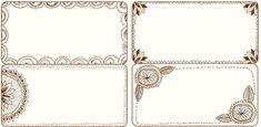 Freebie Fridays: Printable Notepads and Labels on http://ruffledblog.com
