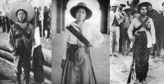 "Woman of the revolution - Mexico ""las adelitas"""