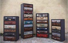 Vintage Suitcase Che
