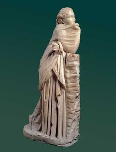 Statua di Musa: Polimnia / Horti Spei Veteris / Sala Caldaie / Percorsi per sale - Centrale Montemartini