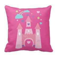 Cute princess tale pillow