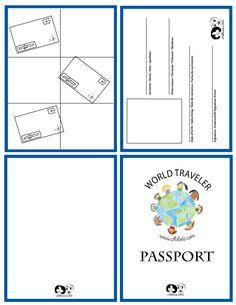 Thinking day passport template Spanish Lessons, Learning Spanish, Passport Template, Booklet Template, Passport Stamps, Passports For Kids, Around The World Theme, Around The World Crafts For Kids, World Thinking Day