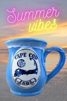 Cape Cod Map, Islands, Glaze, Summertime, Collections, Pottery, Dreams, Ceramics, Mugs