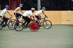 London  #Hardcourt #BikePolo tournament 2014