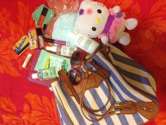 Mario's PR girl Nicole let us take a peek inside her Rebecca Minkoff bag before her day trip to Coney Island! http://blog.mariobadescu.com/whats-in-her-bag-rebecca-minkoff/?utm_source=rss_medium=rss_campaign=whats-in-her-bag-rebecca-minkoff#