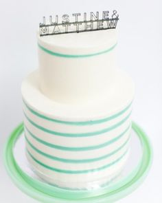 Over a dozen colors allow you to really personalize this cake topper.