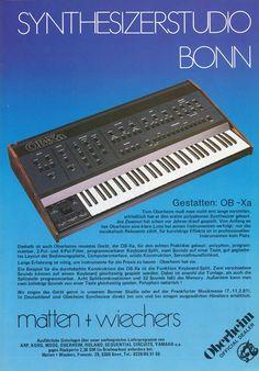 Oberheim OB-Xa Anzeige 1981