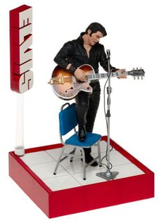 Mcfarlane Toys Rock N Roll Action Figure Elvis 1 68 Comeback >>> For more information, visit image link.