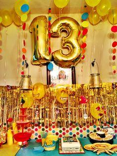22 Best End of Summer Bash images Leo Birthday, Birthday Party For Teens, Sleepover Party, Birthday Emoji, Birthday Ideas, Emoji Decorations, Diy Party Decorations, Emoji Theme Party, Party Themes