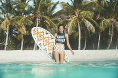 Caution: Betty on Board. Embrace retro lines in this high-waisted neoprene surf short. Part of the Billabong Surf Capsule Collection, this bottom pair...