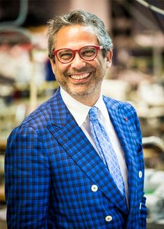 Gianluca Isaia CEO of ISAIA