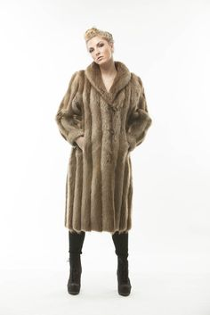 Vintage Long Haired Beaver Full Length Coat #fur #vintage #fashion #barefur #lovemyfur #longhairbeaver #longhair #beaver #beaverfur #love #beautiful #women #warm #winter
