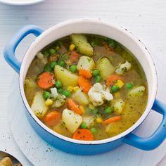 Bei dieser Suppe wird keiner zum Suppenkasper. Zum einen, weil Sie dafür nicht lang am Herd stehen müssen, zum anderen, weil die Suppe einfach supergu...