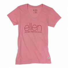 Ellen's Earth Day T Shirt - made from recycled Ketchup Bottles and recycled cotton