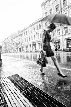Another rain by Andrey Revyakin in Photography Stop The Rain, I Love Rain, People Photography, Street Photography, Nature Photography, Walking In The Rain, Singing In The Rain, Under The Rain, Sound Of Rain