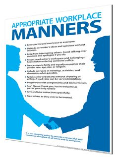 good manners in workplace Workplace etiquette begins with being courteous to coworkers and is an essential of good business etiquette.