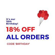 Yes you heard right. On our birthday we give out gifts rather then asking for them (well sometimes). To celebrate our 18th Birthday we're giving YOU 18% off ALL ORDERS until Thursday 4th May 9am GMT. Simply enter 'BIRTHDAY' at the checkout - you're welcome  . . . #bcsbirthday #britishhappiness #tuesdaytreats #birthday #discount #offer #britishexpat #expat #expatlife