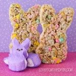 Love from the Oven peeps rice krispy treats recipe-genius!
