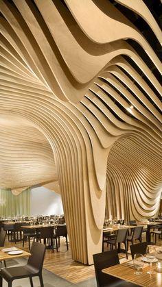 Architecture Design, Organic Architecture, Beautiful Architecture, Contemporary Architecture, Pavilion Architecture, Contemporary Design, Architecture Interiors, Residential Architecture, Rhino Architecture