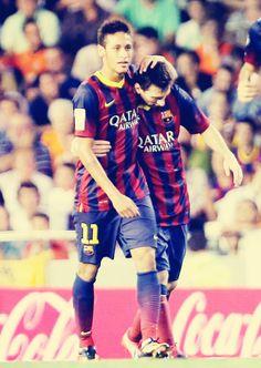 messi + neymar... love them both