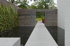 filip van damme tuinarchitectuur / tuinen grote strakke, marke