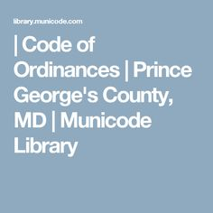 MunicodeNEXT, the industry's leading search application with over codes and growing! Self Defense Laws, My Prince, Maryland, Coding, Programming