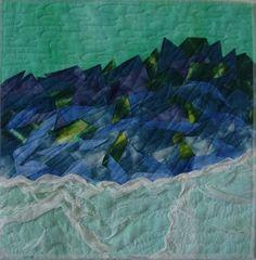 Antarctic Summer by Diana Vincent (Australia) | Fifteen by Fifteen art quilt group