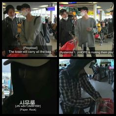 #BTS #방탄소년단 Bon Voyage episode 1 live commentary ❤ Poor Jimin he had to carry Eommas bags ahaha.